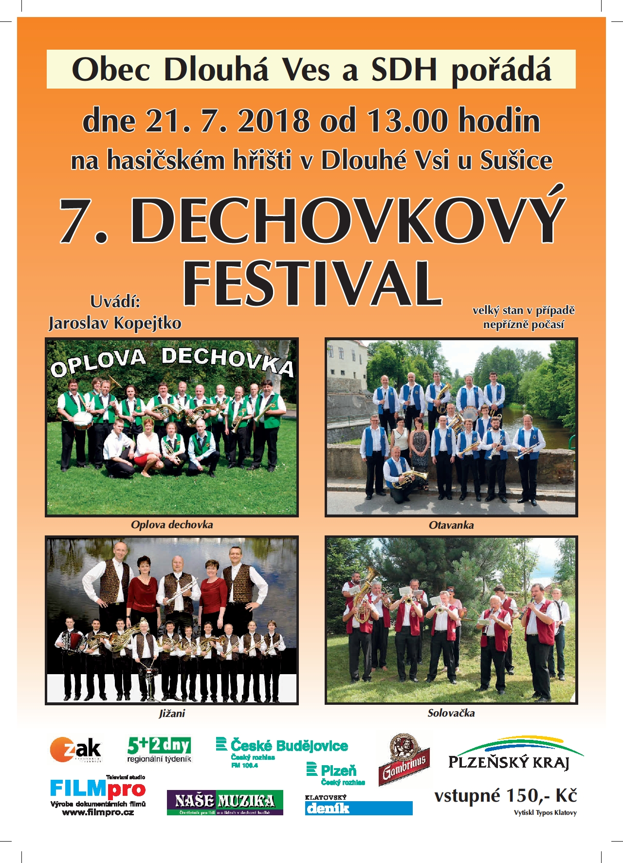 21.7. dechovky festival